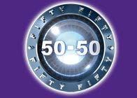 50-50 (Fifty Fifty) Logo ufficiale @ Davide Maggio .it