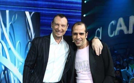 Amadeus e Checco Zalone @ Davide Maggio .it