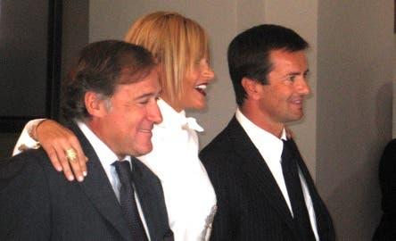 Antonio Marano, Simona Ventura e Giorgio Gori @ Davide Maggio .it