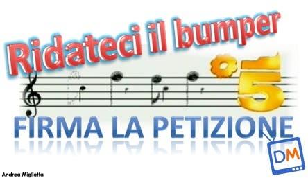 Pentagramma Bumper Canale 5 @ Davide Maggio .it