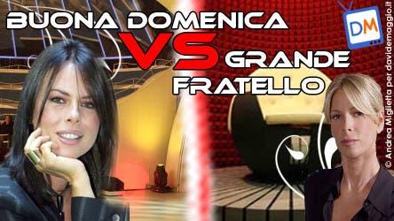 Buona Domenica VS Grande Fratello @ Davide Maggio .it