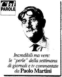 Chi Parole - Paolo Martini @ Davide Maggio .it