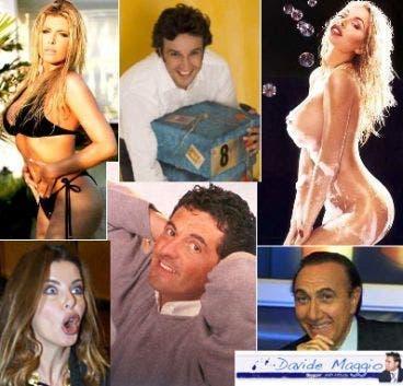 Pippo Baudo , Flavio Insinna , Loredana Lecciso , Teo Mammucari , Valeria Marini , Alba Parietti @ Davide Maggio .it