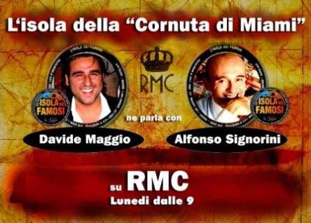 Davide Maggio e Alfonso Signorini @ Davide Maggio .it