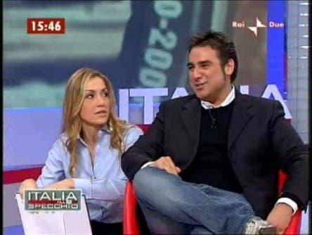 Francesca Senette e Davide Maggio - Italia allo Specchio @ Davide Maggio .it