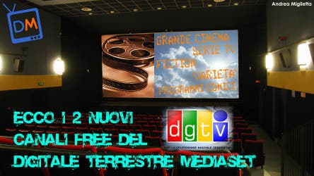 Digitale Terrestre Mediaset @ Davide Maggio .it