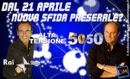 Alta Tensione (Carlo Conti) - Gerry Scotti (50 50) @ Davide Maggio .it