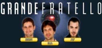 Grande Fratello Sottovetro (Ali Ayach, Francesco Elia, Andrea Bertoni) @ Davide Maggio .it