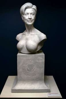 Hillary Clinton bust @ Davide Maggio .it