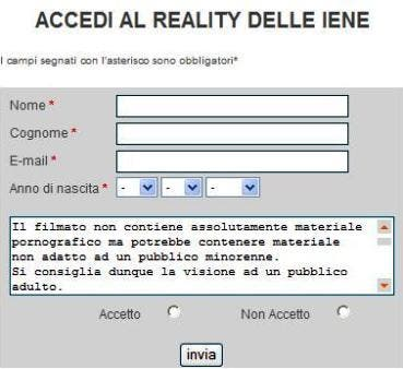 Iene Disclaimer @ Davide Maggio .it