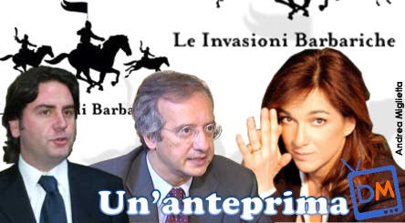 Walter Veltroni, Stefano Ricucci, Daria Bignardi (Invasioni Barbariche) @ Davide Maggio .it