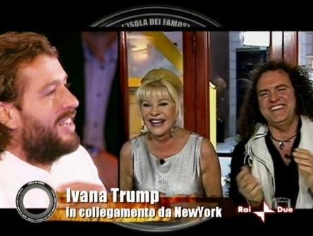 Isola dei Famosi - Ivana Trump e Rossano Rubicondi @ Davide Maggio .it