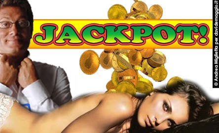Jackpot (Enrico Papi e Karina Michelin) @ Davide Maggio .it