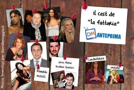 La Fattoria 4 - Cast @ Davide Maggio .it