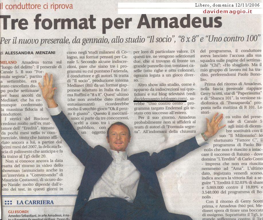 Davide Maggio - Libero @ Davide Maggio .it