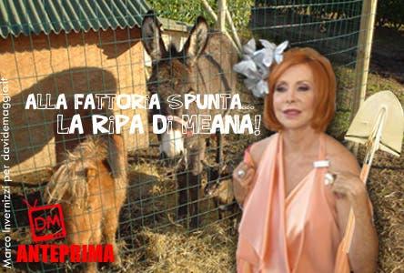 Marina Ripa di Meana - La Fattoria @ Davide Maggio .it