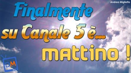 Mattino Canale 5 @ Davide Maggio .it
