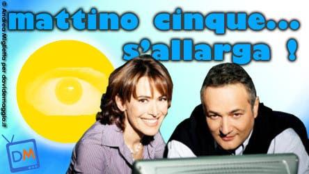 Mattino Cinque (Barbara D'Urso e Claudio Brachino) @ Davide Maggio .it