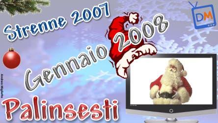 Palinsesti Strenne 2007 - Gennaio 2008 @ Davide Maggio .it