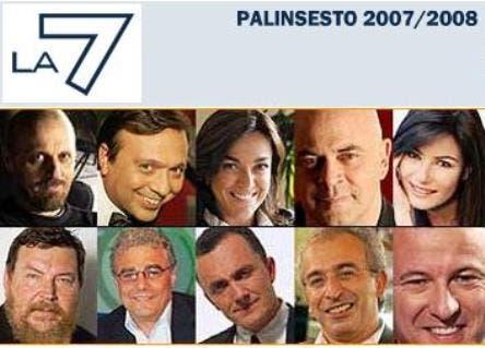 Palinsesto La7 Autunno 2007 @ Davide Maggio .it