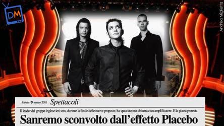 Placebo (Sanremo 2001) @ Davide Maggio .it