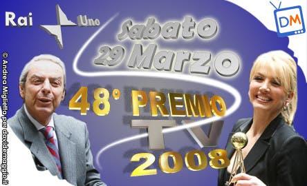 Premio TV 2008 (Daniele Piombi - Milly Carlucci) @ Davide Maggio .it