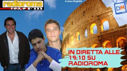 Radio Roma (La mia Romanità - Davide Maggio, Milo Coretti, Francesco Botta) @ Davide Maggio .it