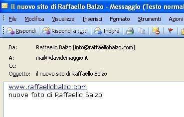 Raffaello Balzo mail @ Davide Maggio .it