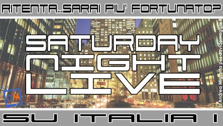 Saturday Night Live @ Davide Maggio .it