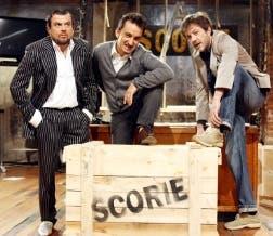 Scorie (Digei Angelo, Nicola Savino, Rocco Tanica) @ Davide Maggio .it