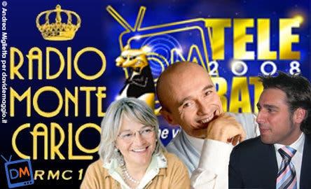 TeleRatti 2008 - RMC (Alfonso Signorini, Luisella Berrino, Davide Maggio) @ Davide Maggio .it