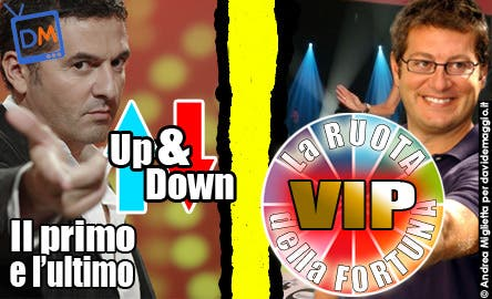 La Ruota della Fortuna Vip, Up and Down, First and Last (Game show) @ Davide Maggio .it