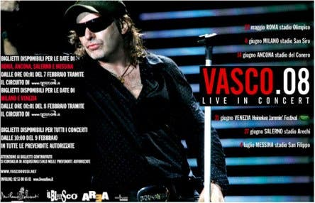 Vasco Rossi (Live 08) @ Davide Maggio .it