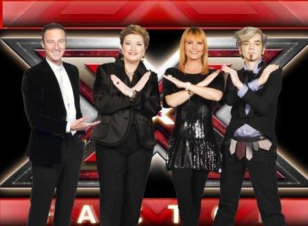 X Factor 2 - Francesco Facchinetti, Mara Maionchi, Simona Ventura e Morgan @ Davide Maggio .it