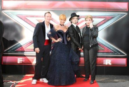 X Factor 2 - Francesco Facchinetti, Simona Ventura, Morgan e Mara Maionchi @ Davide Maggio .it