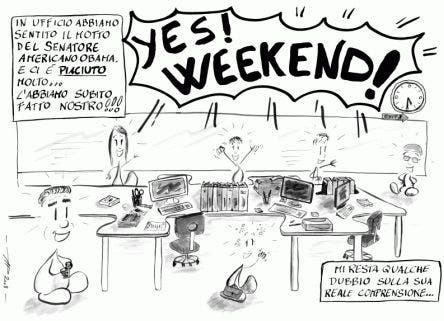 Yes, Week End @ Davide Maggio .it