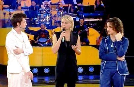 Amici 8 (Maria De Filippi, Mario Nunziante e Valerio Scanu)