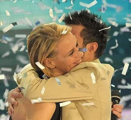 Marco Carta e Maria De Filippi - Festival di Sanremo 2009