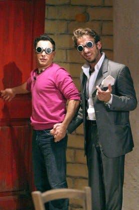 Gf9 - Marcello e Gianluca nella catapecchia