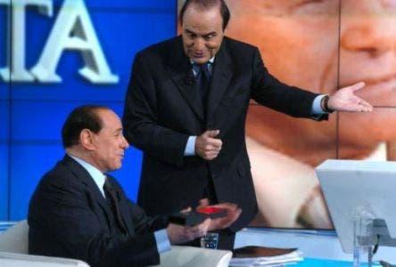Porta a Porta (Bruno Vespa e Silvio Berlusconi) @ Davide Maggio .it