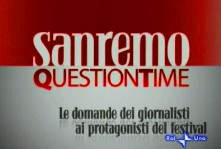 Sanremo - Question Time