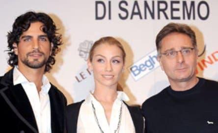Sanremo 2009 (Nir Lavi, Eleonora Abbagnato e Paolo Bonolis)