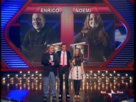 X Factor, Enrico e Noemi - 17 marzo 2009
