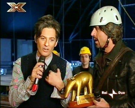 XFactor (Fiorello e Valerio Staffelli)