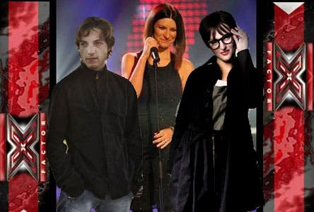 XFactor (James Morrison, Laura Pausini e Arisa)