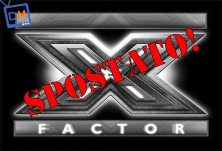 XFactor - Spostato