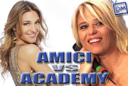 Amici contro Academy Sfida dei Talent Show @ Davide Maggio .it