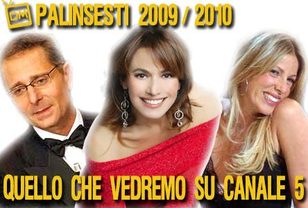 Canale 5 - Palinsesti 2009/2010