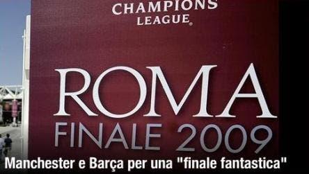 Champions League (Manchester - Barca)