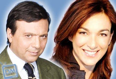 Piero Chiambretti e Daria Bignardi